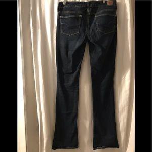 AEO American Eagle Women's 12 X Long Kick Jeans